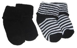 Bilde av Walking sokker til baby 2pk sort