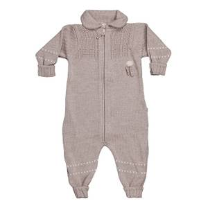 Bilde av Lillelam Ulldress Baby Basic, Beige
