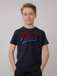 Bilde av Petrol Artwork T-Shirt, Dark Navy